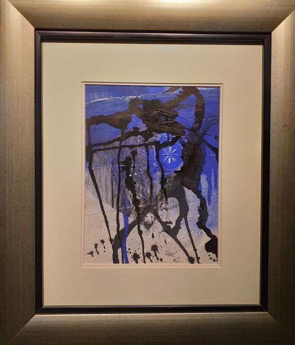Ref 4327 Collage blau