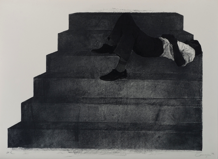 Canogar - Ref. 1984 Estudio para un monumento