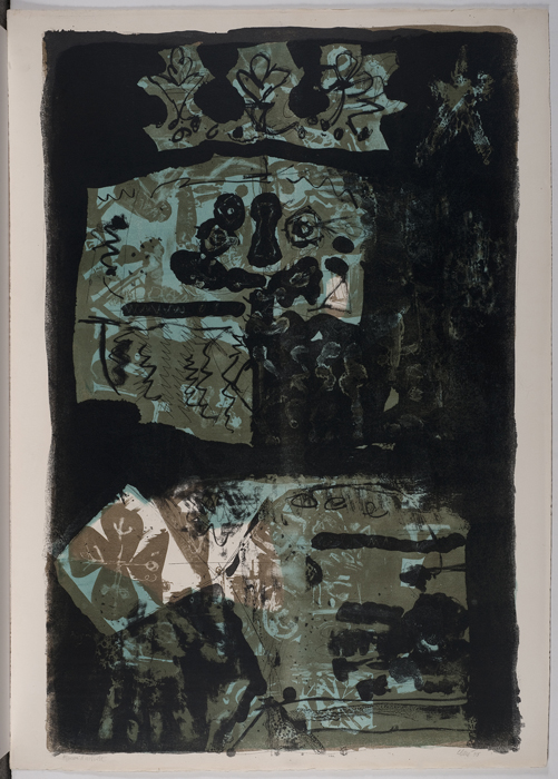 Ref 1107 Rei verd i negre