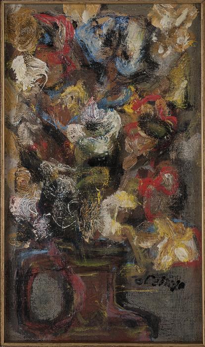 - Ref 2650 Jarron con flores