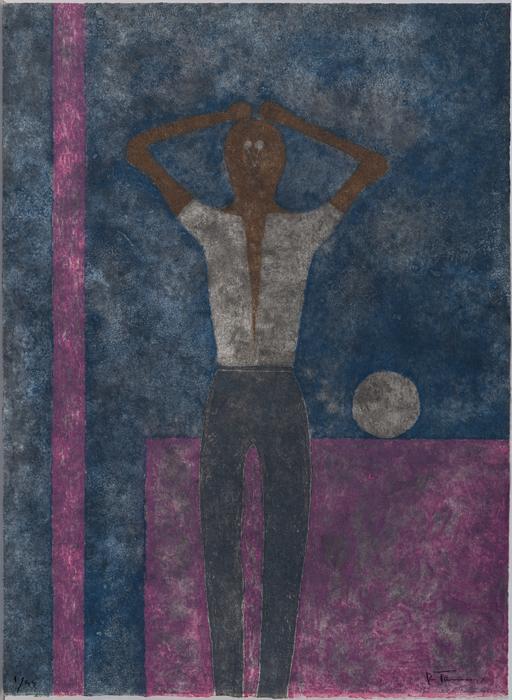 - Ref. 815 Hombre con los brazos sobre la cabeza